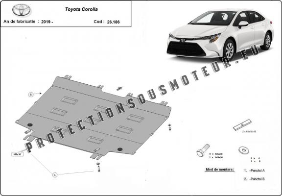 Protection Sous Moteur Toyota Corolla